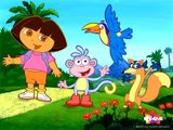 Imprimer le dessin en couleurs : Dora, numéro 21028