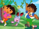 Imprimer le dessin en couleurs : Dora, numéro 21030