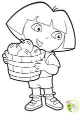 Imprimer le dessin en couleurs : Dora, numéro 21031