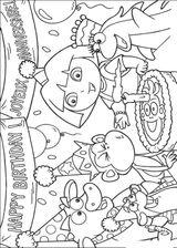 Imprimer le coloriage : Dora, numéro 214105
