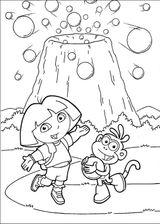 Imprimer le coloriage : Dora, numéro 21881