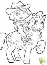 Imprimer le dessin en couleurs : Dora, numéro 23487
