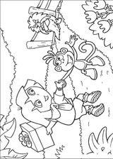 Imprimer le coloriage : Dora, numéro 53915