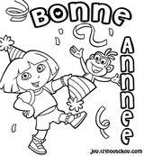 Imprimer le coloriage : Dora, numéro 62045