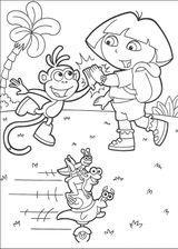 Imprimer le coloriage : Dora, numéro 62047