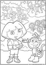 Imprimer le coloriage : Dora, numéro 676662
