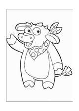 Imprimer le coloriage : Dora, numéro 759861