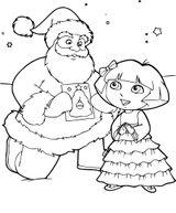 Imprimer le coloriage : Dora, numéro 79984dc6