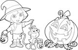 Imprimer le coloriage : Dora, numéro c45e8de9
