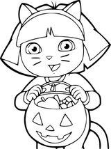 Imprimer le coloriage : Dora, numéro e734bb9b
