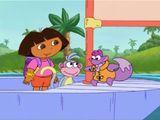 Imprimer le dessin en couleurs : Dora, numéro ed7d60f3