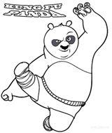 Imprimer le coloriage : Kung Fu Panda, numéro 263251