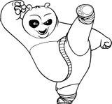 Imprimer le coloriage : Kung Fu Panda, numéro 2ea6dd43