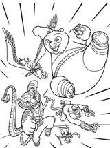 Imprimer le coloriage : Kung Fu Panda, numéro 30babf9