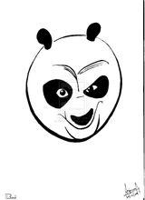 Imprimer le coloriage : Kung Fu Panda, numéro 474905