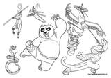 Imprimer le coloriage : Kung Fu Panda, numéro 543537