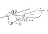 Imprimer le coloriage : Kung Fu Panda, numéro 543550