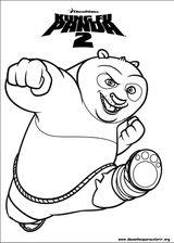 Imprimer le coloriage : Kung Fu Panda, numéro 543558