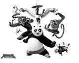 Imprimer le coloriage : Kung Fu Panda, numéro 543560