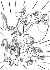 Imprimer le coloriage : Kung Fu Panda, numéro 553070