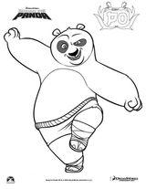 Imprimer le coloriage : Kung Fu Panda, numéro 609236