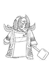 Imprimer le coloriage : Kung Fu Panda, numéro 6377ff22