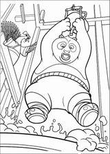 Imprimer le coloriage : Kung Fu Panda, numéro 671574