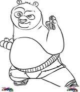 Imprimer le coloriage : Kung Fu Panda, numéro 754145