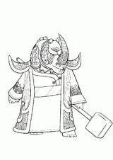 Imprimer le coloriage : Kung Fu Panda, numéro 99361471