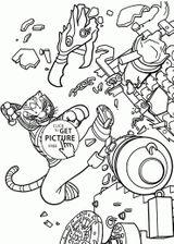 Imprimer le coloriage : Kung Fu Panda, numéro a7946a5b