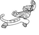 Imprimer le coloriage : Kung Fu Panda, numéro b3165cd5
