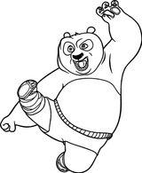 Imprimer le coloriage : Kung Fu Panda, numéro b37ad05a