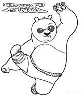 Imprimer le coloriage : Kung Fu Panda, numéro cc289de7
