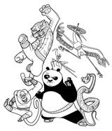 Imprimer le coloriage : Kung Fu Panda, numéro d8833c00