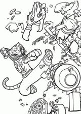 Imprimer le coloriage : Kung Fu Panda, numéro e69baab6