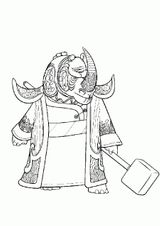 Imprimer le coloriage : Kung Fu Panda, numéro ec14dd4b