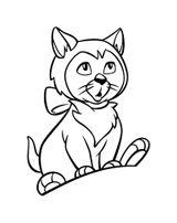 Imprimer le coloriage : Le Chat potté, numéro 1fd72161