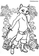 Imprimer le coloriage : Le Chat potté, numéro 543600