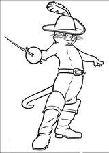 Imprimer le coloriage : Le Chat potté, numéro 677747