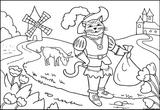 Imprimer le coloriage : Le Chat potté, numéro 754146