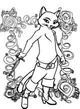 Imprimer le coloriage : Le Chat potté, numéro c6489814