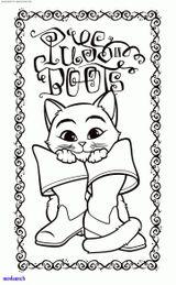 Imprimer le coloriage : Le Chat potté, numéro d491a30