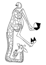 Imprimer le coloriage : Madagascar, numéro 543650