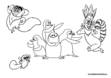 Imprimer le coloriage : Madagascar, numéro 543666