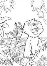 Imprimer le coloriage : Madagascar, numéro 543673