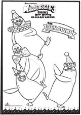Imprimer le coloriage : Madagascar, numéro 7a11f913