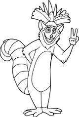 Imprimer le coloriage : Madagascar, numéro f3110749