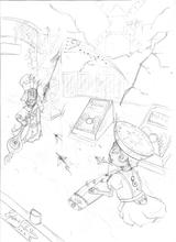 Imprimer le coloriage : Monstres contre Aliens, numéro 543637