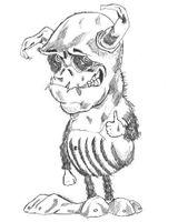Imprimer le coloriage : Monstres contre Aliens, numéro 543648