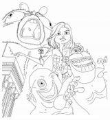 Imprimer le coloriage : Monstres contre Aliens, numéro 558490
